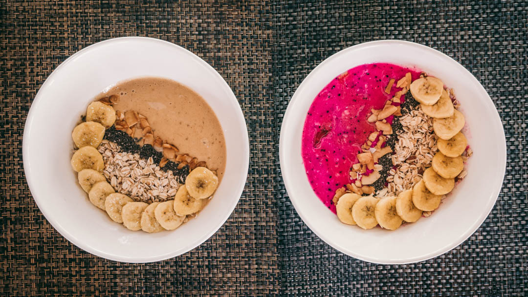 Arka Hayahay two colourful smoothie bowls