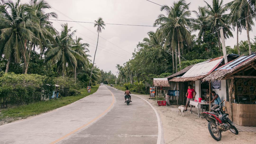 Tourism Road on Siargao