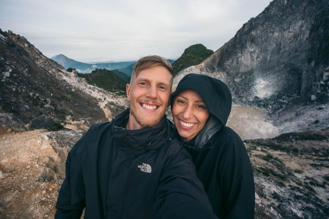 Alex & Victoria at Sibayak
