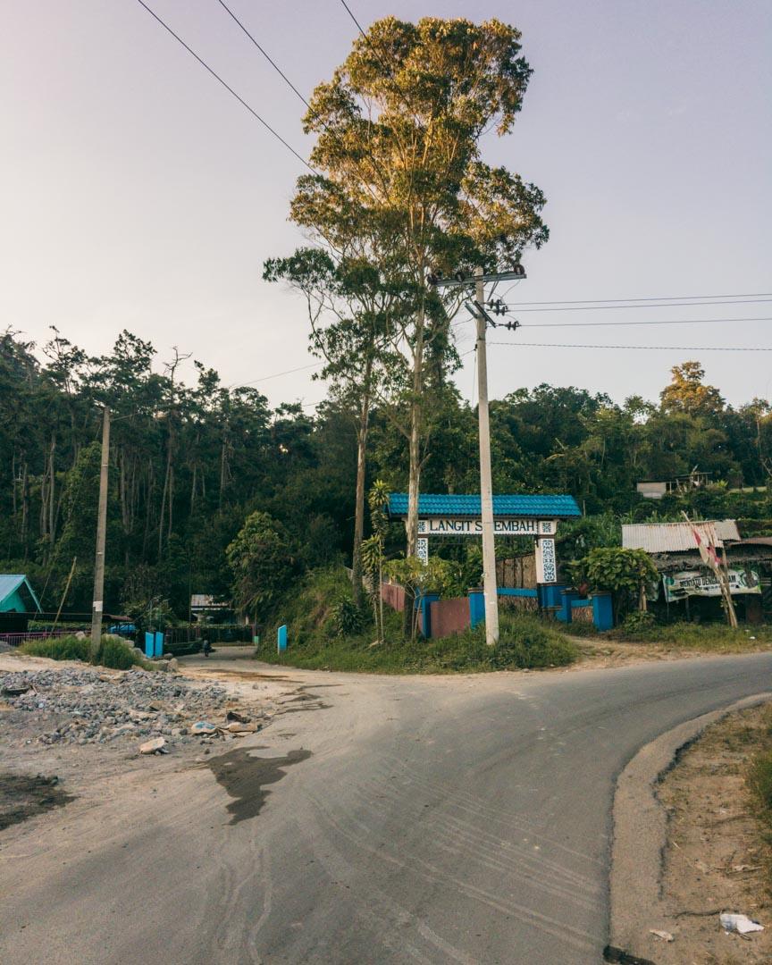 Sibayak route