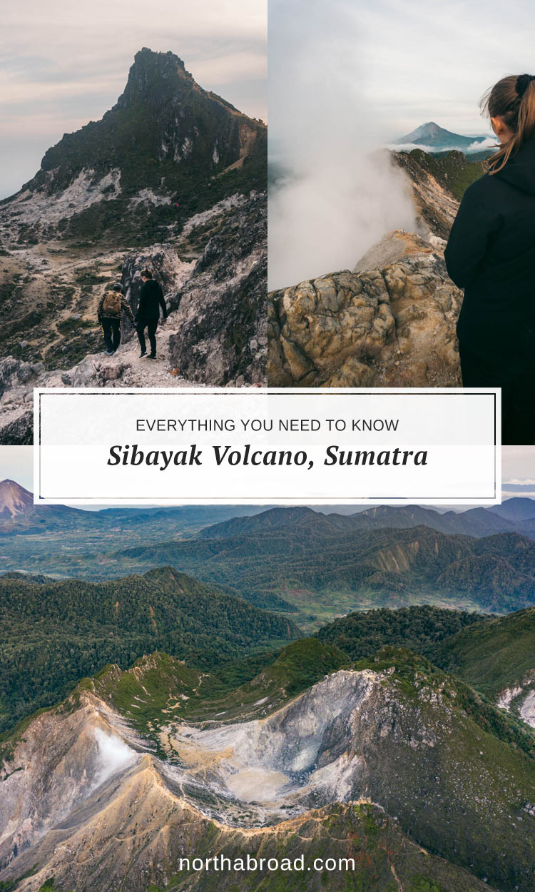 What to expect from visiting Mount Sibayak volcano near Berastagi in North Sumatra including how to get there and lots of photos.