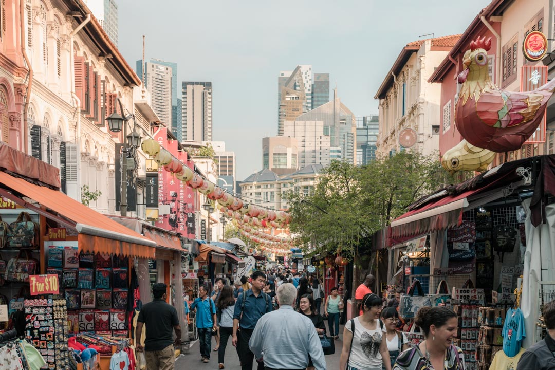 Chinatown Singapore street