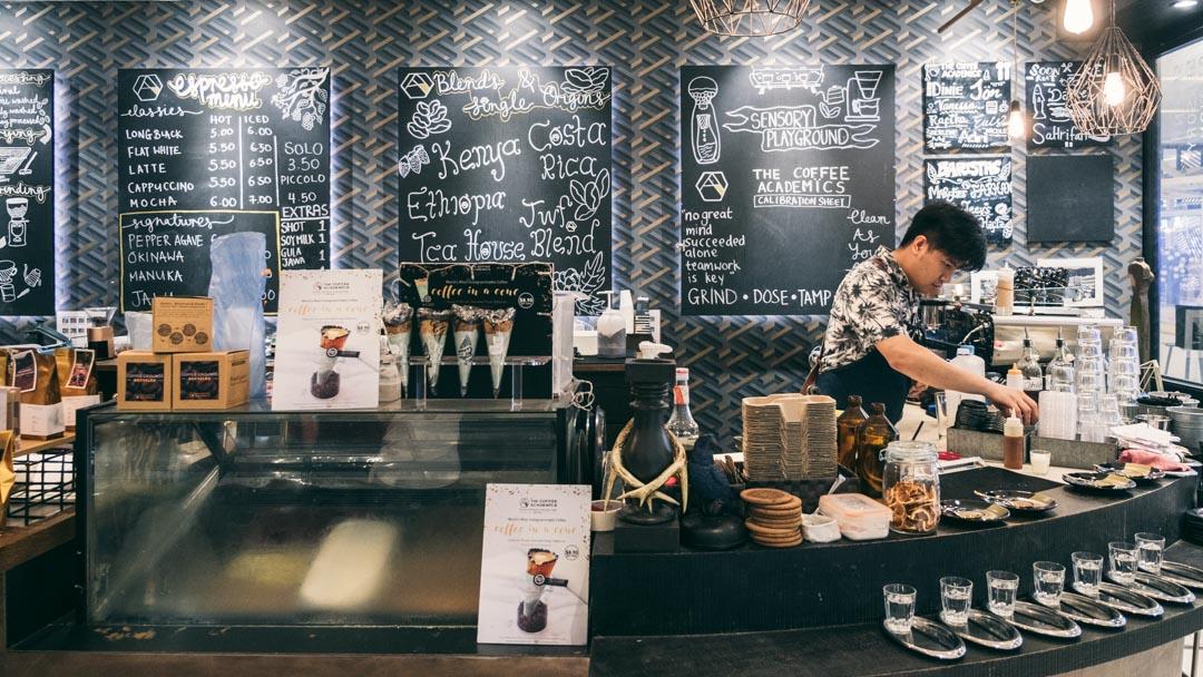 The Coffee Academïcs store