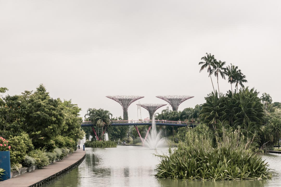 Gardens by the Bay, outside