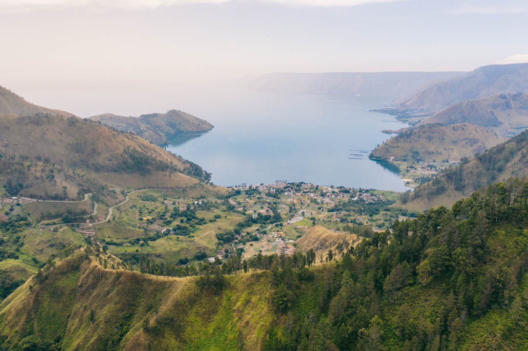 Lake Toba from Sipiso Piso
