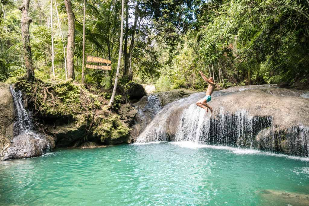 Swing at Kawasan Falls Siquijor