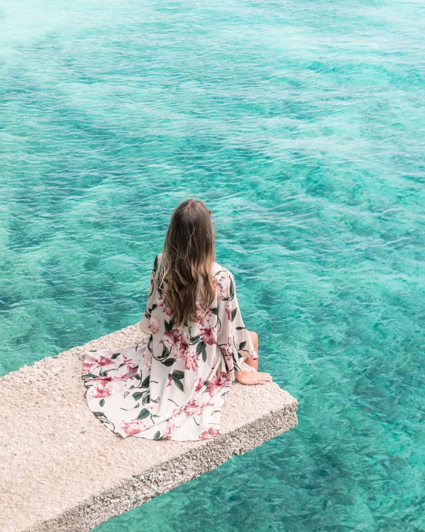 Salagdoon Beach turquoise water