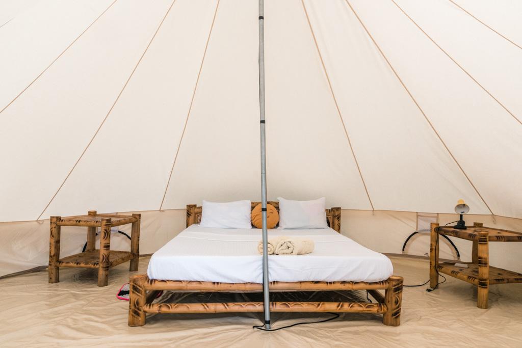Tent at Glamping Siquijor