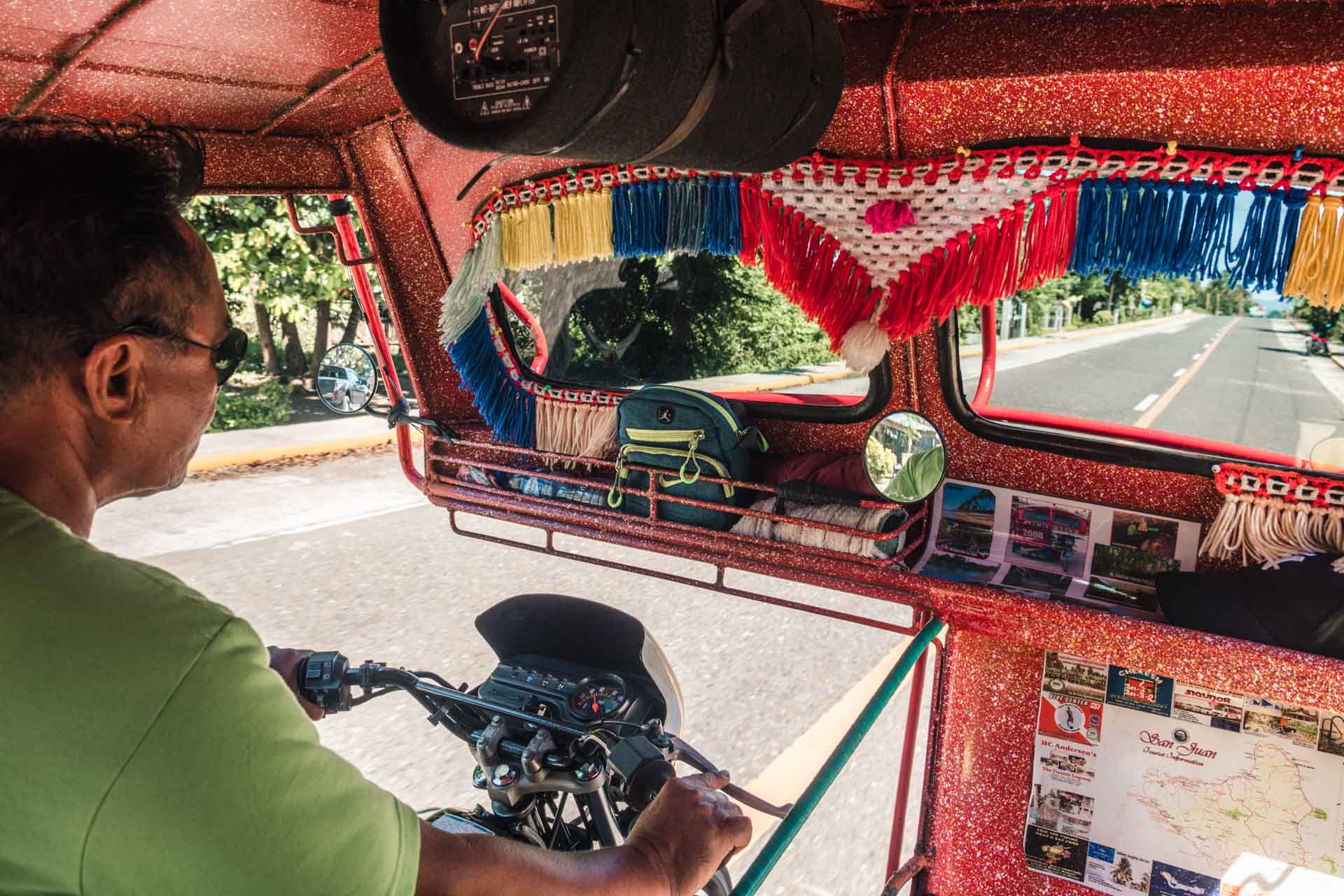 Tricycle in Siquijor, the Philippines