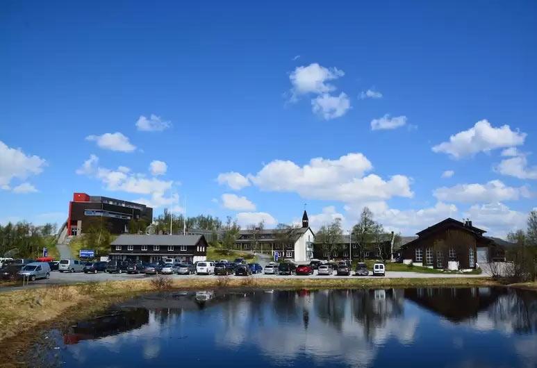 Skinnarbu Nasjonalparkhotell lake