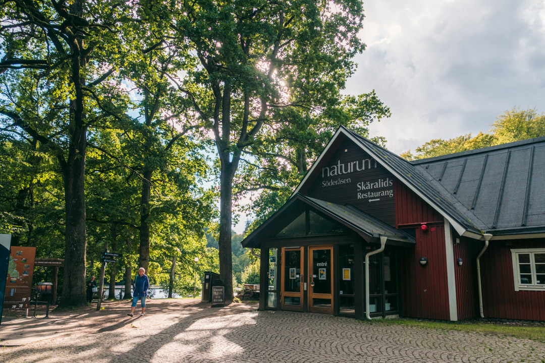 The Naturum visitor centre  in Skäralid