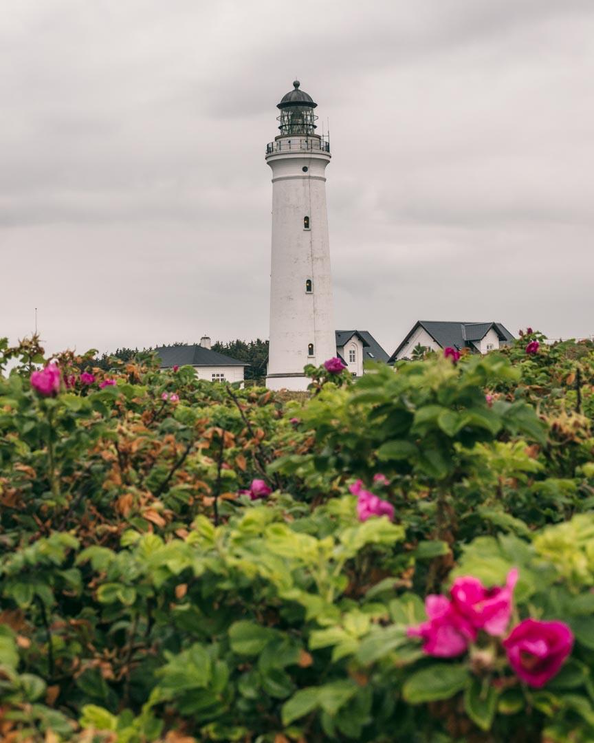 lighthouse in Hirtshals