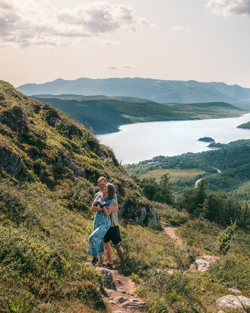 Bosnuten hiking