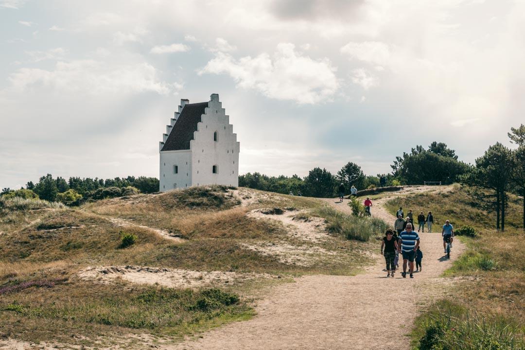 The Sandburied Church in North Jutland.