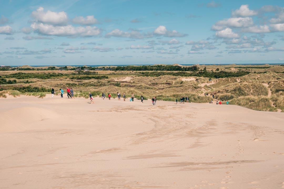 The Migrating Dune in North Jutland