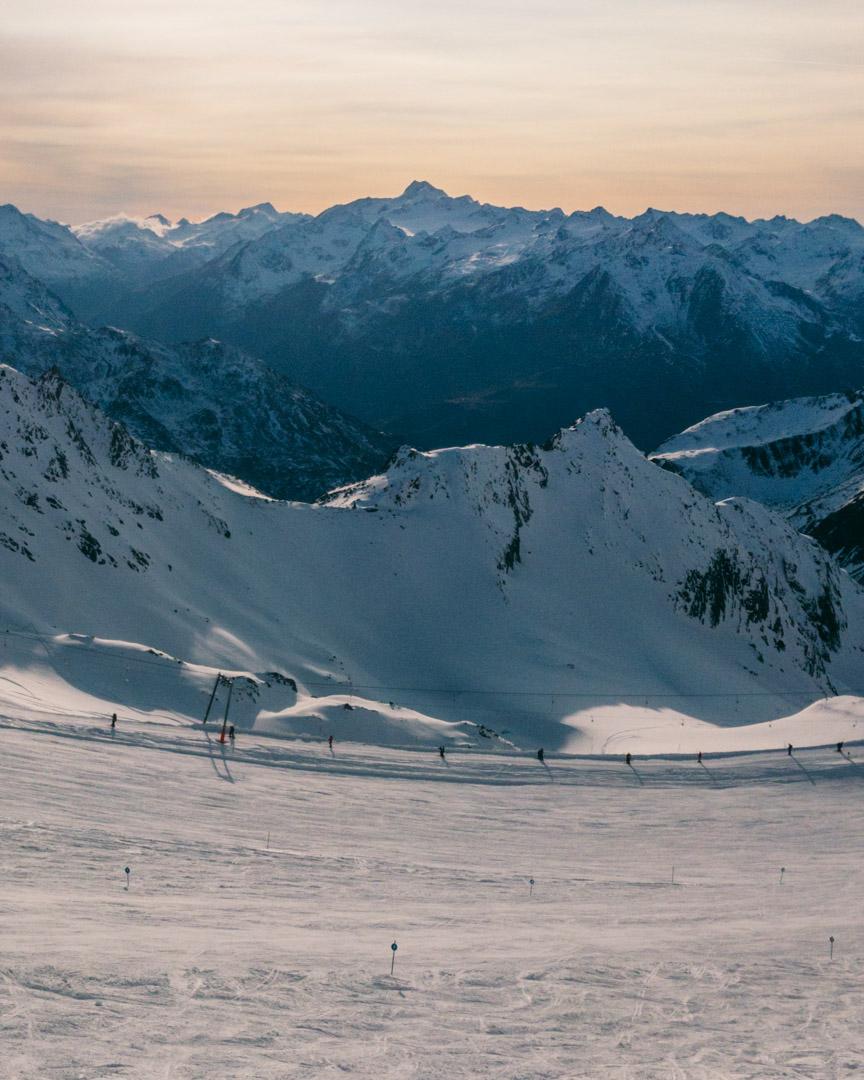 Skiing Stubai