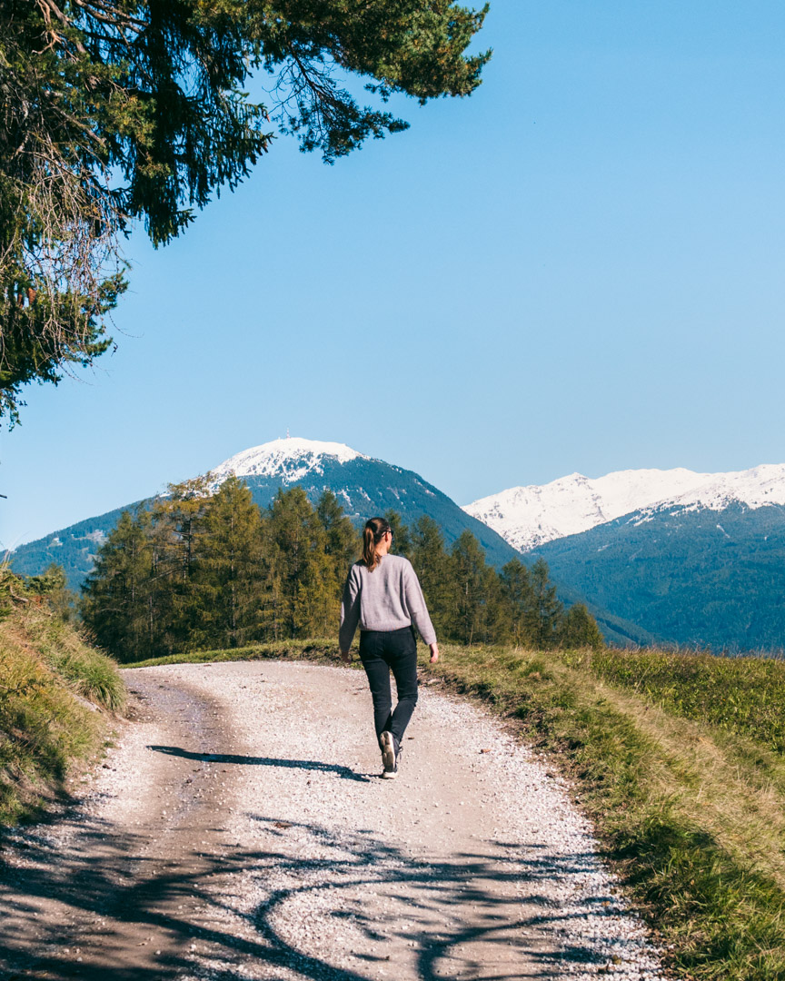 Telfer Wiesen-hike