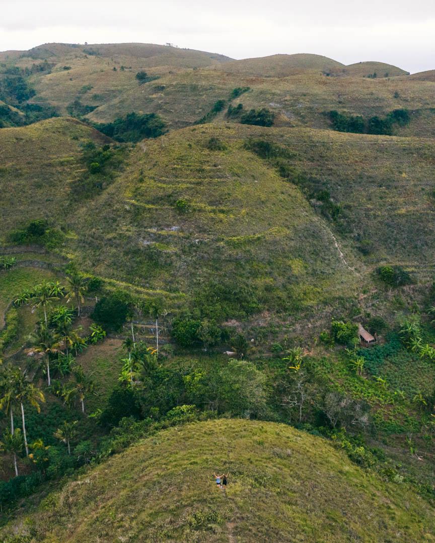 Teletubbies Hills on Nusa Penida