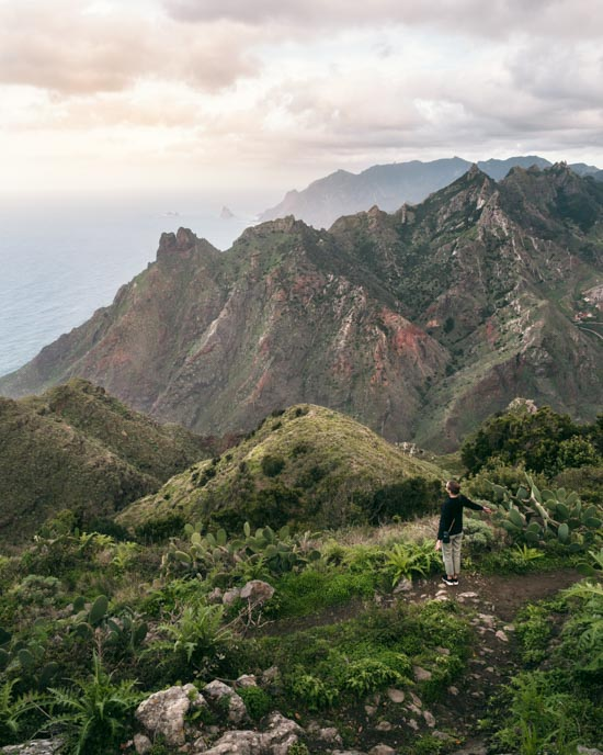 Tenerife's northeast (Anaga)