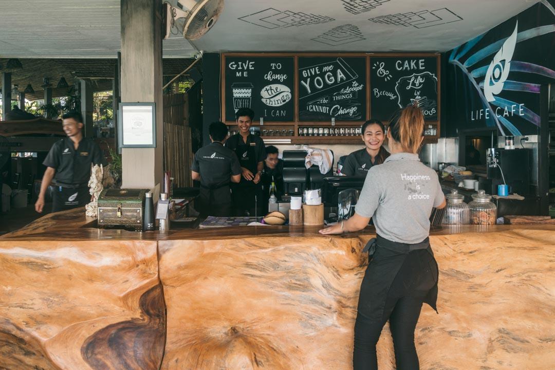 Vikasa Life Café staff