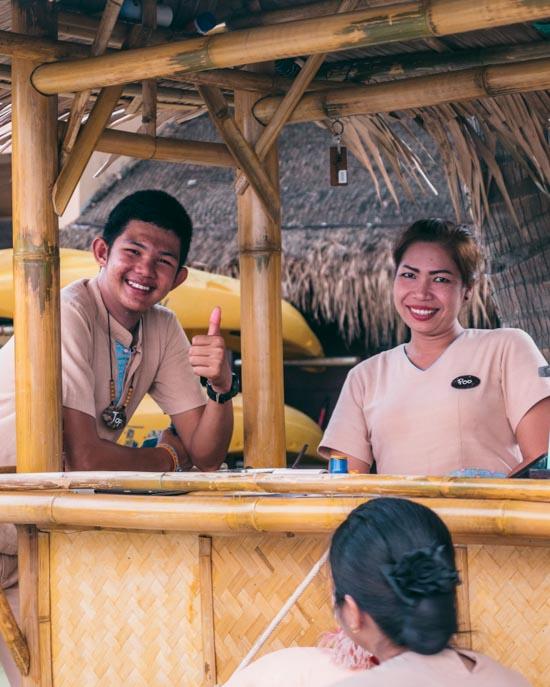 thai smiling