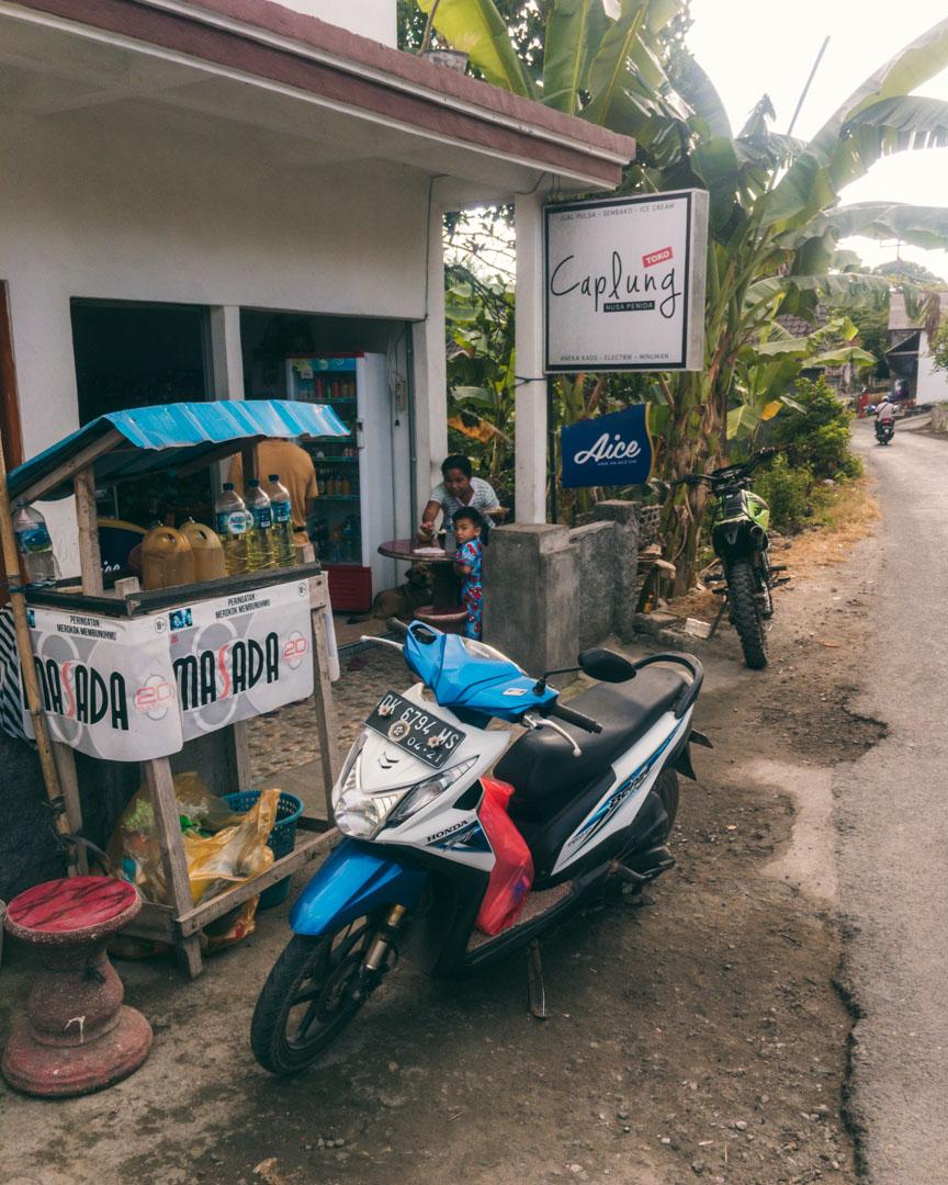 Fill gas Nusa Penida