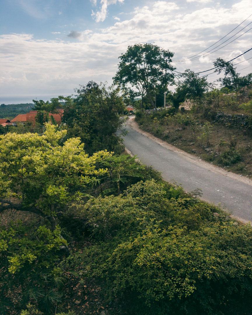 Road on Nusa Penida