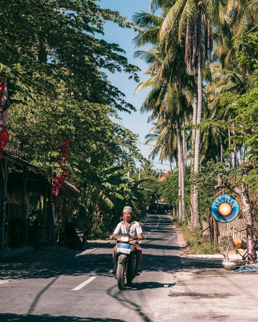 Ring road Nusa Penida