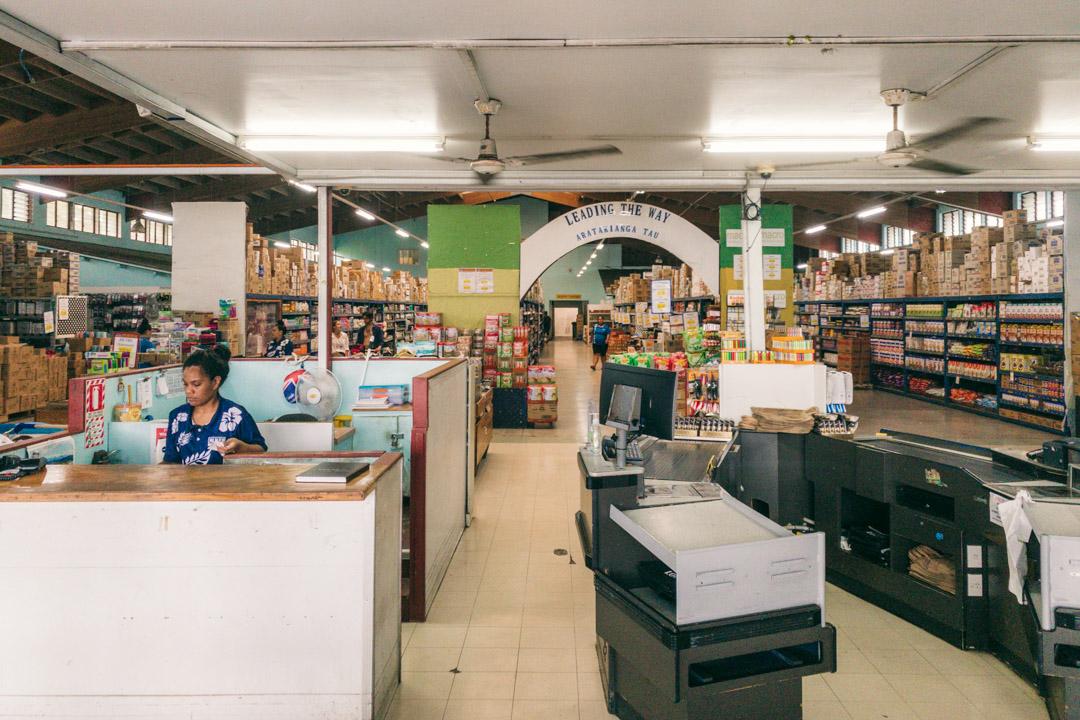 CITC supermarket in Rarotonga