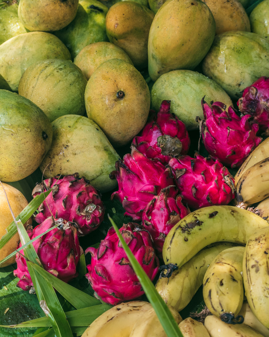 Fruit in Rarotonga and the Cook Islands