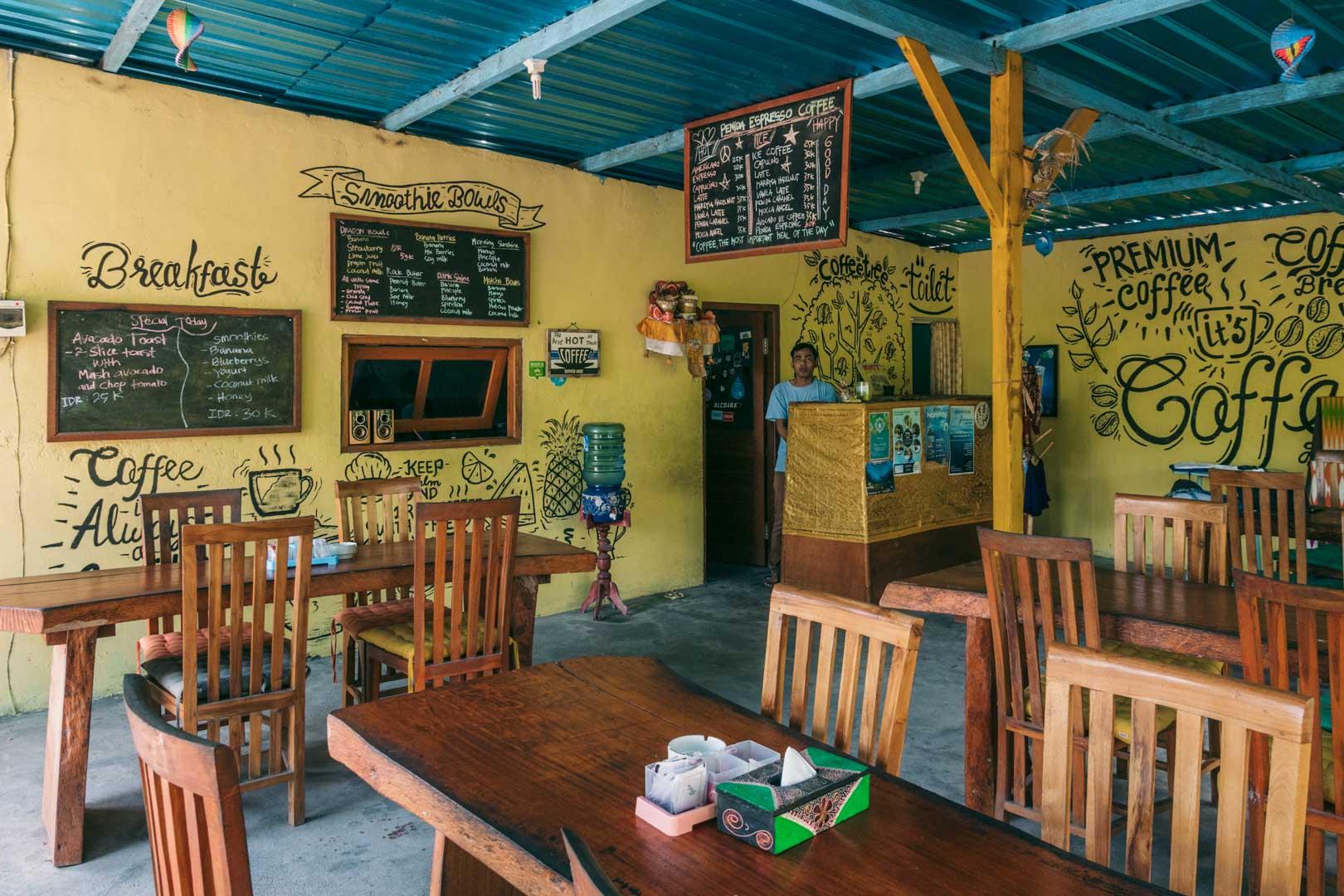 Penida Espresso on Nusa Penida