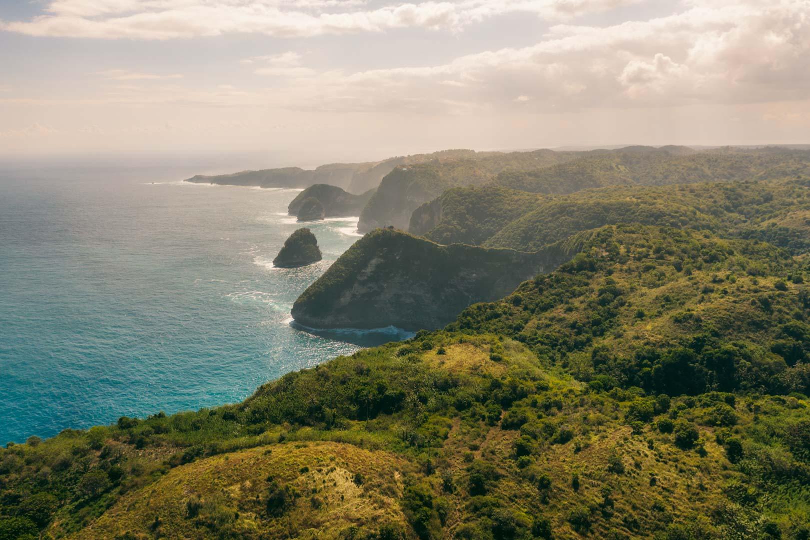 Nusa Penida coastline