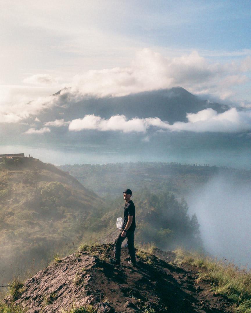 Hiking volcanoes in Bali