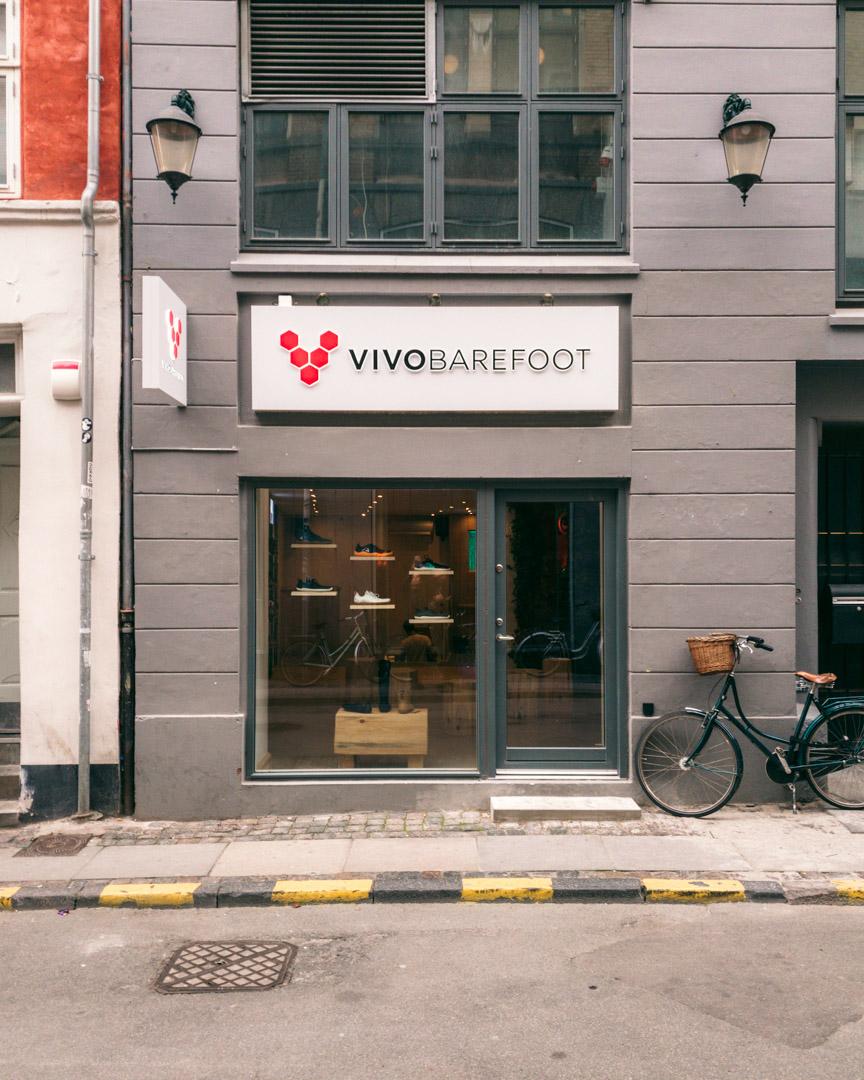 The Vivobarefoot store in Copenhagen, Denmark