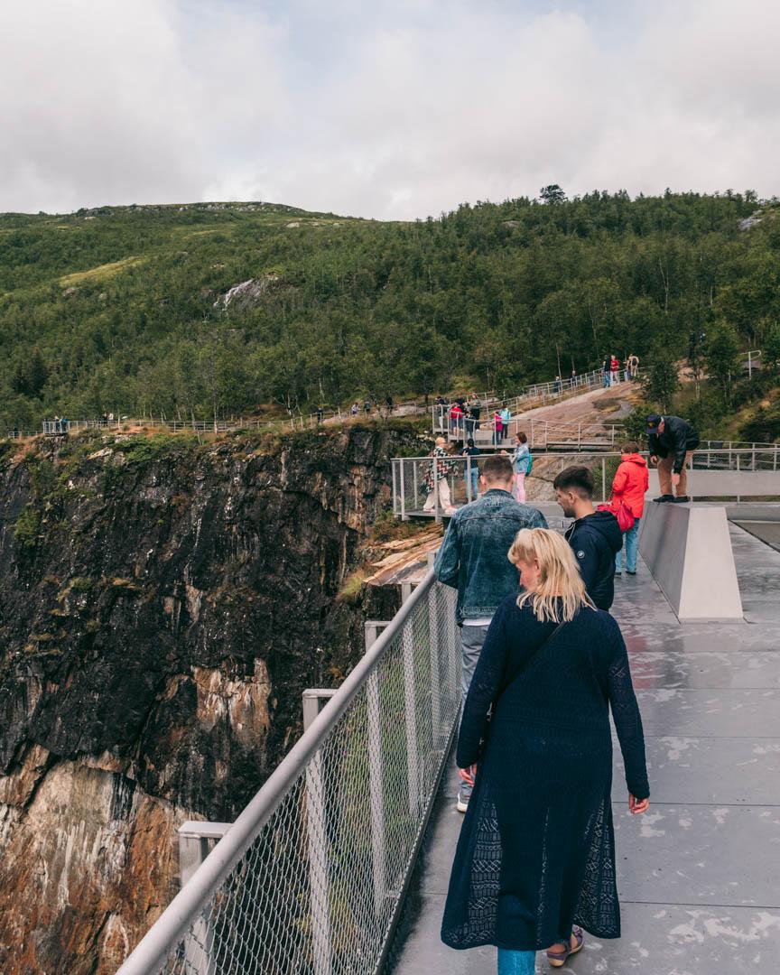 Viewing platform Vøringsfossen