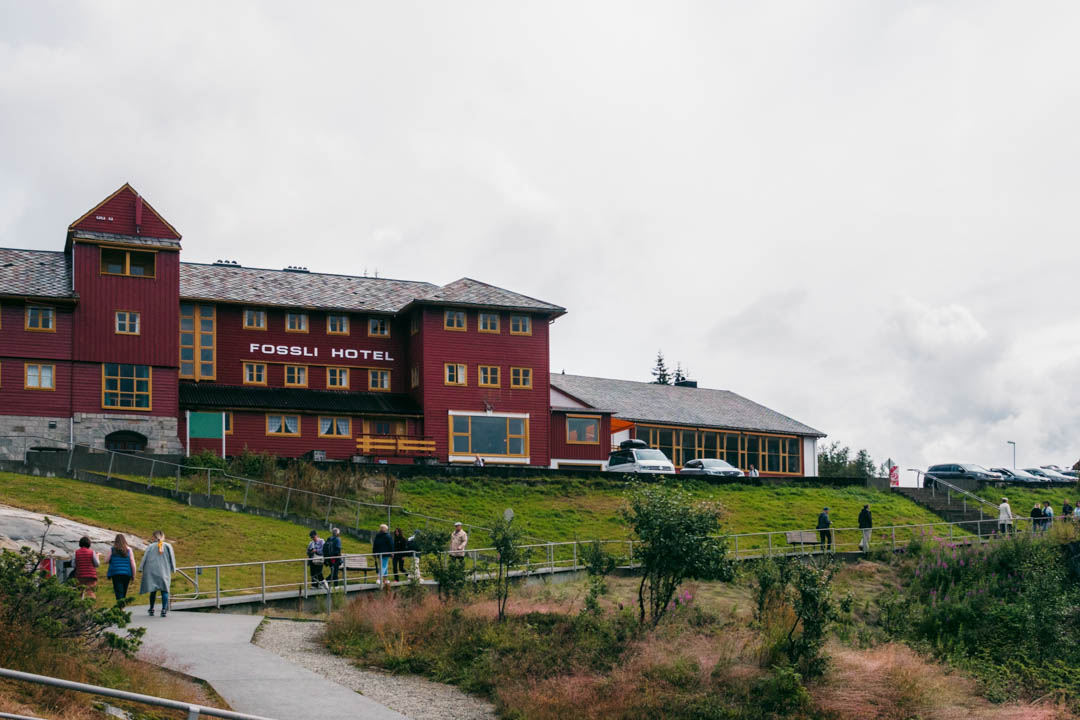 The Fossli Hotel at Vøringsfossen