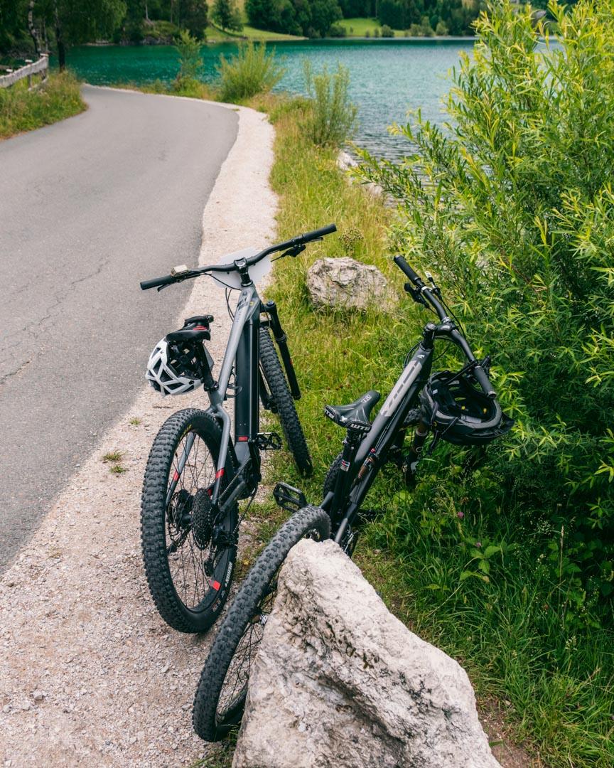 Hintersteiner See mountain biking