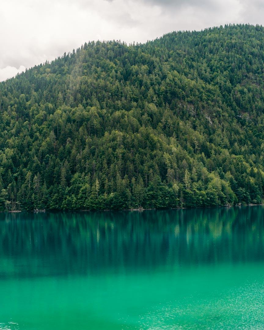 Hintersteiner See turqoise water