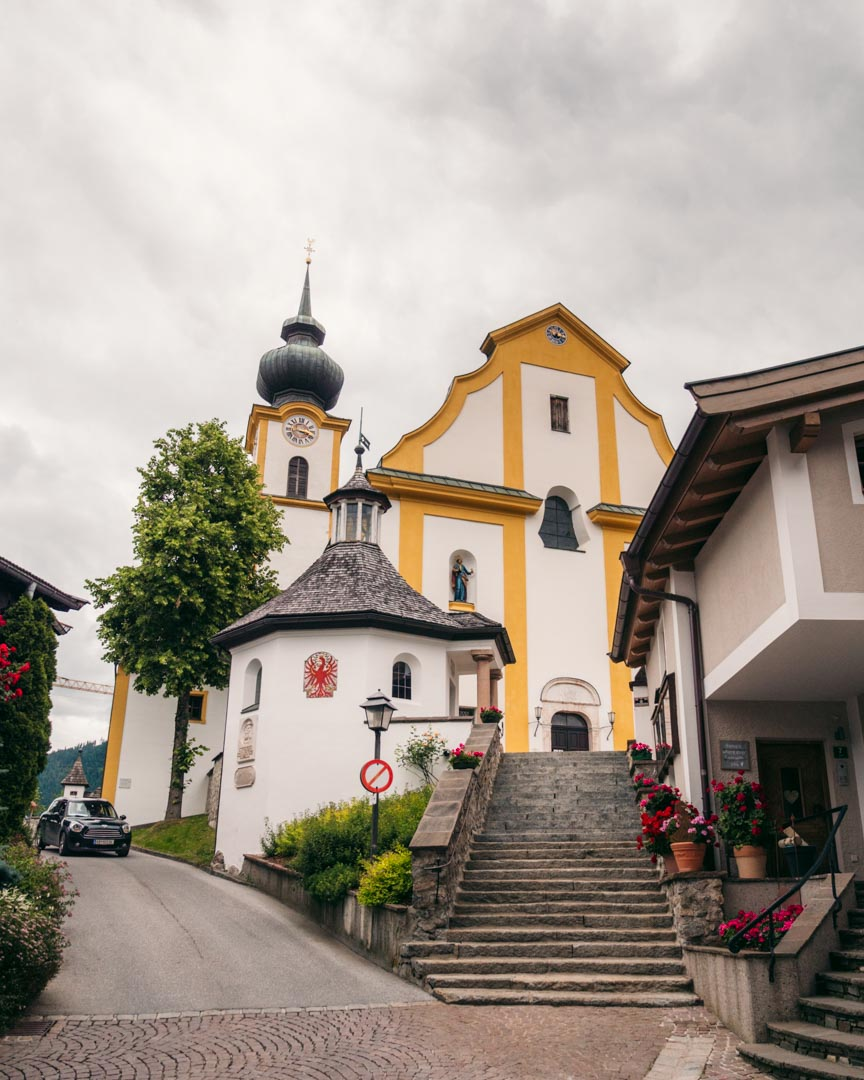 The church in Söll