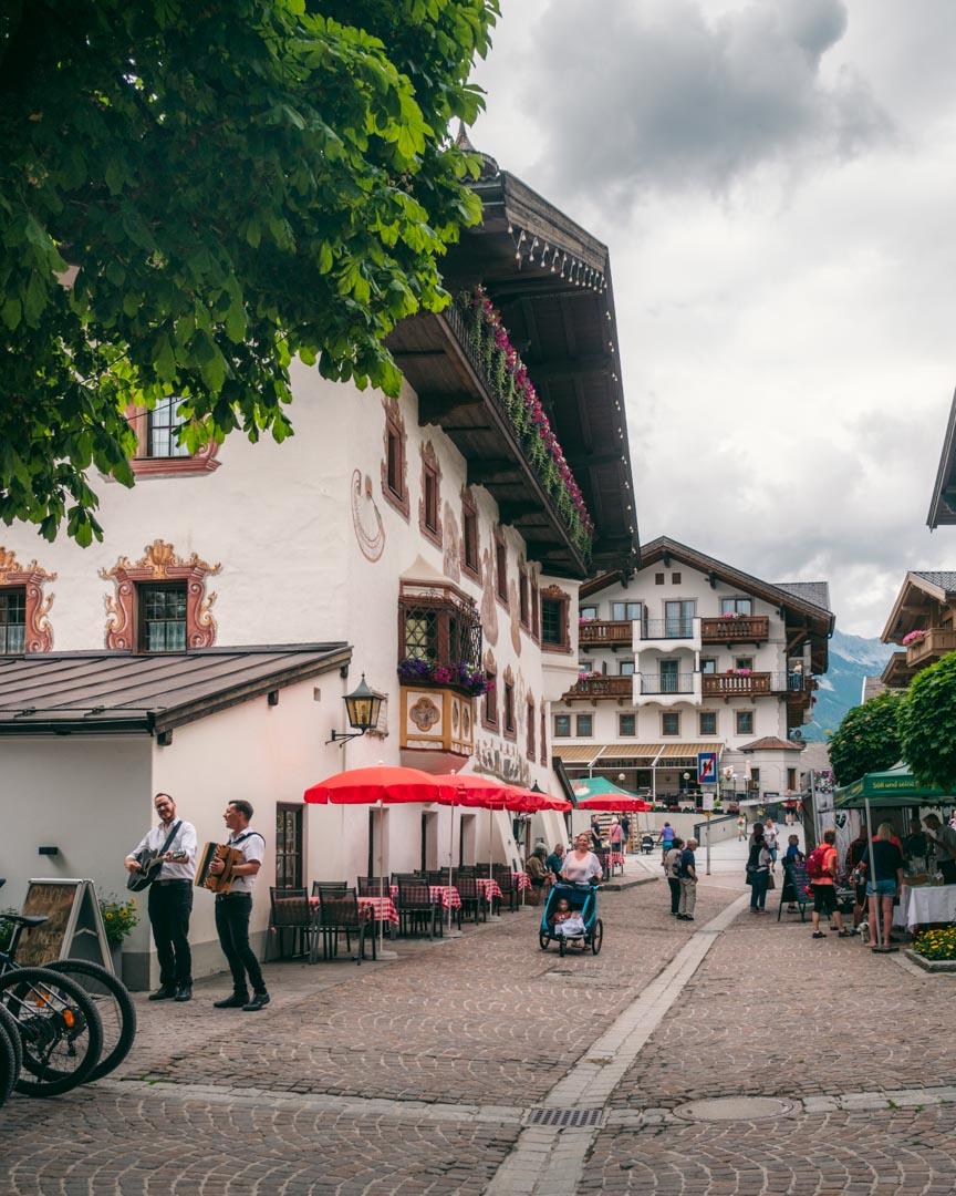 Market in Söll