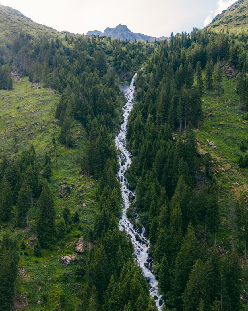 Waterfall in Gschnitztal