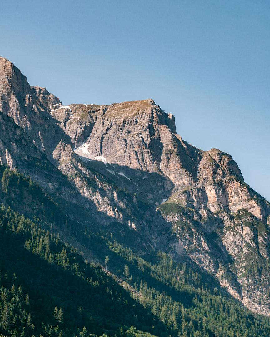 Gschnitz mountains