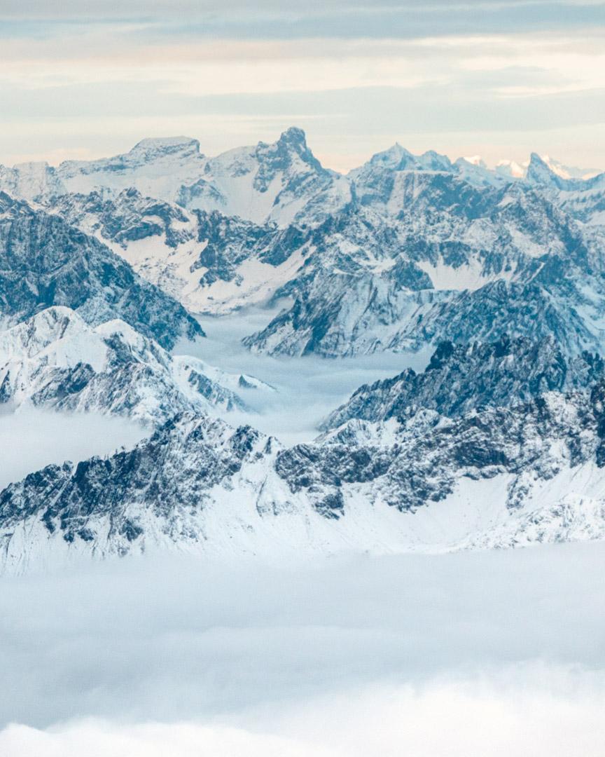 Zugspitze views