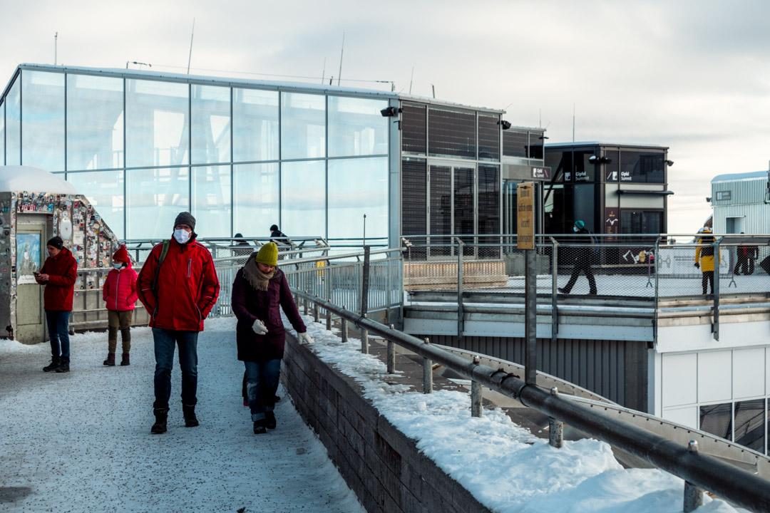 Zugspitze platform