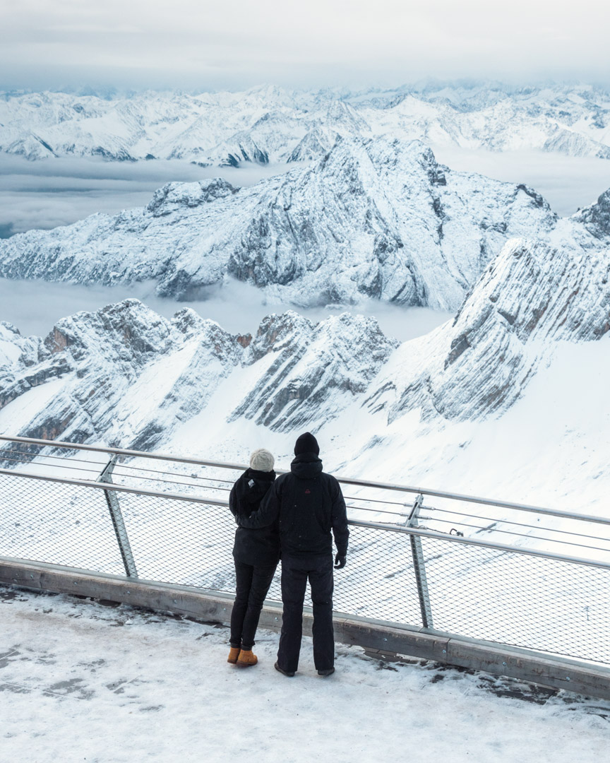 The views from Zugspitze